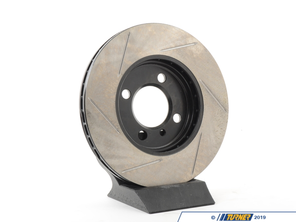 T#300110 - 126.34018SL 915 - E30 318/325 LEFT FRONT SPORTSTOP SLOTTED BRAKE ROTOR - Centric -