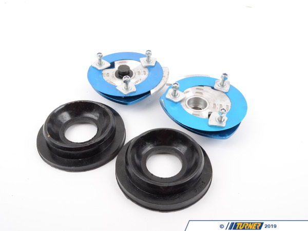 T#3083 - 193716K3 - Front Adjustable Camber/Caster Plates - E46 M3 - KMAC Stage 3 Track - KMAC -