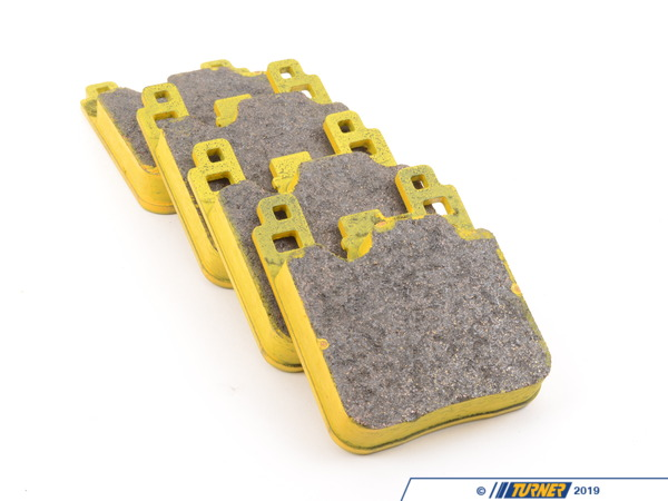 T#300482 - TMS300482 - Pagid RSL1 Endurance Racing Pads - Rear - F22 M235i, F3X M Sport/M Performance (2-piston Caliper), F8X M2/M3/M4 - Pagid -