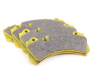 Brembo Calipers Monobloc N, J - Race/Street Brake Pad Set - Pagid RS29 Yellow