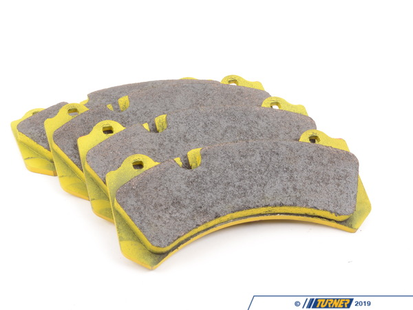 T#1885 - TMS1885 - Brembo Calipers Monobloc N, J - Race/Street Brake Pad Set - Pagid RS29 Yellow - Pagid - BMW