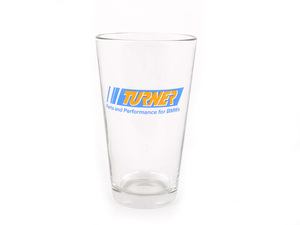 Turner Motorsport 16 oz. Pint Glass
