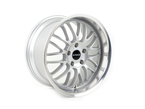 "D-Force EmPower 18x9.5"" ET43 Silver Wheel 21lbs"