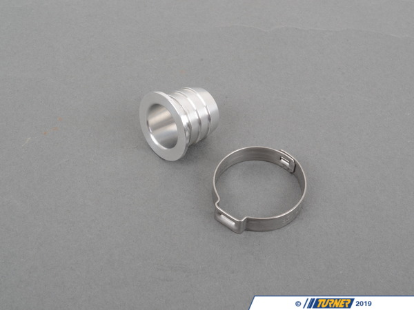 T#2236 - TEN3660ITP - E36/Z3 6 Cylinder Intake Tube Plug (For ASC Delete or Blocking PCV or Idle Control Valve hoses) - Turner Motorsport - BMW