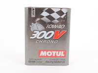 MOTUL 300V 10W-40 Chrono Race Oil - 2 liter can
