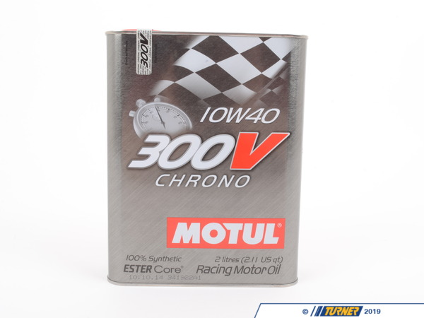 T#2448 - MO300V-10W40-2L - MOTUL 300V 10W-40 Chrono Race Oil - 2 liter can - Motul - BMW MINI