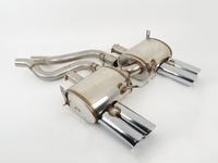 E92 M3 Coupe, E93 M3 Cabrio Supersprint Performance Mufflers (4x80mm Tips)