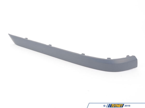 T#78338 - 51127142217 - Genuine BMW Bumper Guard, Primed, Rear Left - 51127142217 - E65 - Genuine BMW -