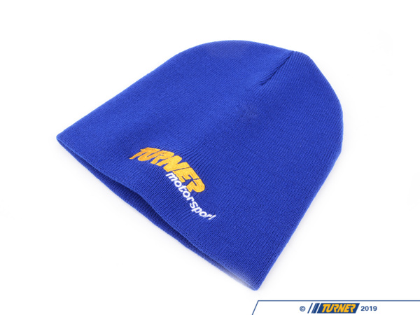 T#1744 - TMSSKULLCAP - Turner Motorsport Skull Cap / Knit Winter Hat - Blue - Turner Motorsport - BMW