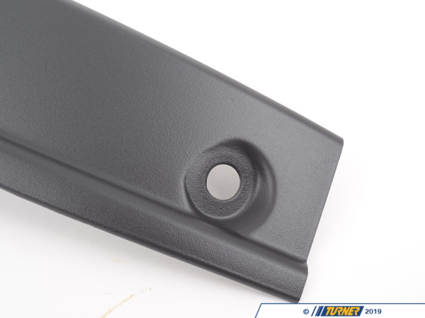 T#100846 - 51428150859 - Genuine BMW Left Rear Door Catch Cover Schwarz - 51428150859 - E38 - Genuine BMW -