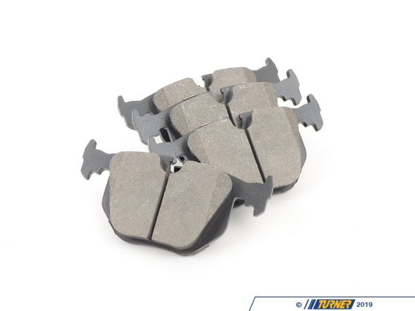 StopTech StopTech Street Performance Brake Pads - Rear - E31, E38, E39 M5, E46 330/M3, E53, E83, Z4M, Z8 TMS12171