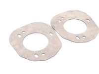 T#2720 - TSU9075STR - E82, E9X Front Strut Tower Reinforcement Plates (Pair) - Turner Motorsport - BMW