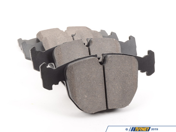 T#22126 - TMS22126 - StopTech Street Performance Brake Pads - Front - E39 530i/540i/M5 1997-2003, E38 740i & X5 3.0/4.4 - StopTech - BMW