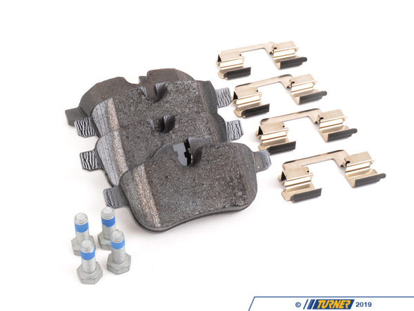 T#19753 - 34216788275 - Genuine BMW Brake Pads - Rear - E89 Z4 30i, Z4 35i - Genuine BMW - BMW