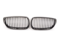 Genuine BMW Black Chrome Front Grill Set - E90 E92 E93