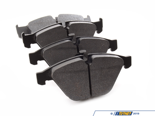 T#212701 - TMS212701 - Hawk DTC-30 Track/Race Brake Pads - Front - E9X 335, E9X M3 - Hawk DTC-30 brake pads fill a spot between the entry-level HP Plus pads and an all-out race pad like the Hawk Blue or Pagid Orange. If you started out with HP Plus but feel like you are ready to advance to a more aggressive pad these are an excellent choice. The DTC-30 pads have greater torque output than an HP Plus and a very consistent torque curve which makes them more capable during hard track use than an HP Plus. These are intended for advanced users but should not be considered all-out race pads (unless used to balance brake bias).The Hawk DTC (Dynamic Torque Control) compound offers the highest friction coefficients of any Hawk pad. The DTC pads offer high torque with aggressive and controllable initial bite, superior modulation and release characteristics, and excellent torque control. DTC-30 compound is often used as a replacement to Hawk Blue when more torque is wanted.DTC-30 Features:Moderate-high initial biteConsistent torque over all pressuresOperating temp range: 100-1200FControllable torqueSuperior modulation and releaseExcellent pad and disc wearThese front Hawk race pads fit the following BMWs:2011+  E82 BMW  1M Coupe2008-2011  E9X BMW 328i, 328Xi,/b>2007-2011  E9X BMW 335i, 335Xi, 335d2008-2011  E9X BMW M32004-2005  E60 BMW 525i (automatic transmission only)2006-2007  E60 BMW 525i, 525xi (all transmissions)2008-2010  E60 BMW 528i, 528xi2004-2007  E60 BMW 530i, 530xi2008-2010  E60 BMW 535i, 535xi2004-2010  E60 BMW 545i, 550i2004-2010  E63 BMW 645Ci, 650Ci2002-2008  E65 BMW 745i, 745Li, 750i, 750Li, 760Li - Hawk - BMW