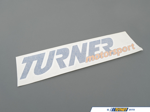 "T#395061 - 148-410 - Extra-Large Turner Motorsport Toolbox Sticker (5x8"") **While supplies last!** - Turner Motorsport - BMW MINI"