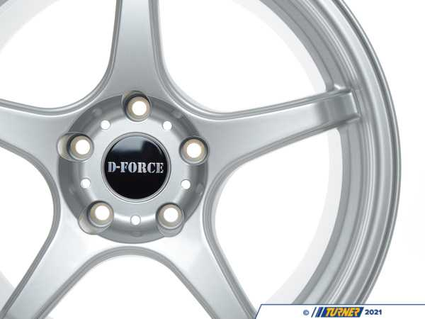 D-Force Wheels E46 M3 D-Force LTW5 18x9.5 Square Race Wheel Set TMS14398
