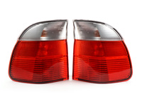 Euro Clear Taillights - (pair) - E39 528i 540i Wagon 1998-2000