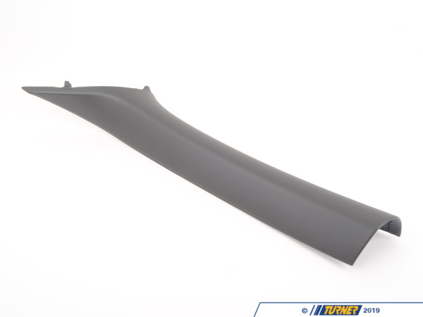 T#103414 - 51437074017 - Genuine BMW Left Column A Cover Basaltgrau - 51437074017 - Genuine BMW -