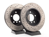 T#4211 - 34111164539CD - Cross-Drilled Brake Rotors - Front - E46 325i/328i, Z3 3.0, Z4 3.0i  (pair) - StopTech - BMW