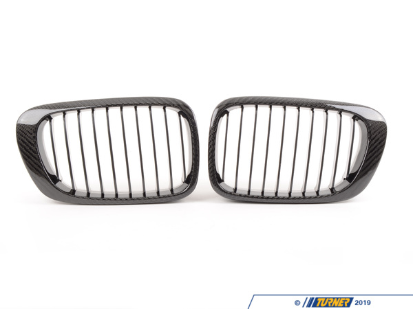Turner Motorsport Carbon Fiber Center Grills - E46 Coupe - 323Ci 328Ci 325Ci 330Ci 00-03 - All E46 M3 CFG460BYY