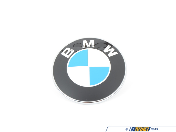 T#2999 - 51147044207N - BMW Hood Emblem with Nuts For E85 E89 - Z4 - Genuine BMW - BMW
