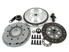 T#3794 - FLYE36M50UPGRADE - E36 M3 Clutch & Flywheel Upgrade Package for E36 323/325/328 - This kit uses the stock E36 M3 clutch with a JB Racing aluminum flywheel and M3 clutch slave cylinder for an outstanding improvement in the non-M E36. The stock M3 clutch is larger than the E36 325 disc and was used in the 321hp Euro M3  way more clutch than you need on a 2.5 or 2.8-liter M50 and M52 (even supercharged cars). But because its a factory clutch the feel, durability, engagement, fitment, etc are OE spec!OEM replacement clutch partslightweight aluminum flywheel for faster acceleration and quicker revs (15lbs less than stock)comparable cost to OEM replacement partsdirect fit with no installation issuesIf you own an E36 but have never done a clutch job, youre in for an unpleasant surprise! The stock flywheels dont usually last much longer than 100,000 miles. It's not just the friction surface that wears but the internal dual-mass damping parts fail over time too. Now is the time to replace a faulty dual mass flywheel before it completely fails and you have to do a clutch job all over again. The best plan is to have a new flywheel on hand when installing the clutch. You can use a new OEM M3 flywheel but we've had such great success with the aluminum flywheels that we think it's a superior product. This package is actually about the same price as buying a new OEM clutch and new OEM flywheel! And theres a big performance boost!Included with this Clutch / Flywheel package:  E36 M3 3.2 Sachs OEM clutch kit - clutch disc, pressure plate, throw-out bearing  E36 M3 JB Racing aluminum flywheel  new pilot bearing  E36 M3 clutch slave cylinder   UUC Clutch Stop  clutch alignment toolThis complete kit makes a great overhaul for E36 M3 too!What about noise? A single-mass aluminum flywheel is not going to dampen as well as the dual-mass or steel flywheels. But we used this setup for over 100,000 miles on a daily driver/track car and there was never any serious complaints. It was hardly an issue unless the car was sitting at a drive-thru, on a hot day, with the A/C on. And then the noise was a slight rattle and nothing major. We haven't received a single complaint from customers either.This item fits the following BMWs:1992-1999  E36 BMW 323is 323ic 325i 325is 325ic 328i 328is 328ic M3 - Packaged by Turner - BMW