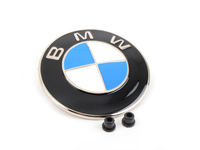 Genuine BMW Heritage Hood and/or Trunk Emblem with Grommets (All Metal Emblem)