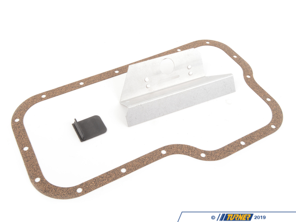 T#808 - TEN3031B30-Group - E30 M3 Turner Motorsport Oil Pan Baffle Kit - A MUST for every E30 M3! This is the first and most important modification you should make! During hard cornering/long sweeping corners the engine oil moves up the sides of the oil pan causing oil starvation! Oil starvation is a very common cause of engine failure in E30 M3's without a baffle. Our easy to install oil pan baffle kit keeps the oil near the pick-up and therefore reduces oil starvation. Our baffle along with the engine oil filled up 1 pint above the top mark on the dipstick with a quality synthetic oil will help insure a long lasting M3 motor. This baffle is a one piece unit, not a modified, welded stock baffle. No core charge! Includes detailed instructions. Lower oil pan gasket included. Installs in about 1 hour. - Turner Motorsport - BMW