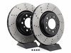 StopTech Cross-Drilled Brake Rotors - Front - E46 M3 (pair) TMS1390