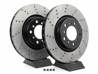 Cross-Drilled Brake Rotors - Front - E46 M3 (pair)