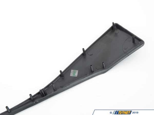 T#16120 - 51418398737 - Genuine BMW Molding Left Schwarz - 51418398737 - Genuine BMW -