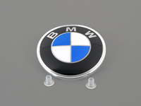 BMW Trunk Emblem with Grommets For E28, E30, MZ3