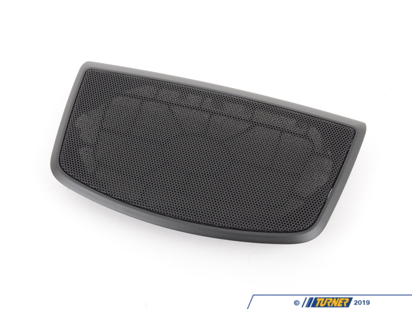 T#175478 - 51459239293 - Genuine BMW Cover, Center Speaker - 51459239293 - Schwarz - Genuine BMW -