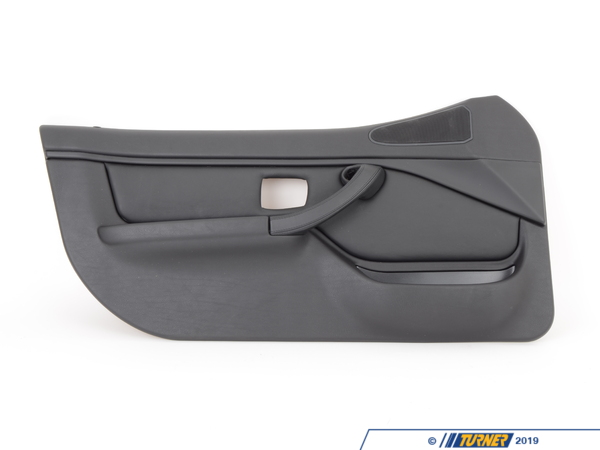 T#95841 - 51412693795 - Genuine BMW Door Lining Leather Left Q6Sw Schwarz - 51412693795 - Genuine BMW -