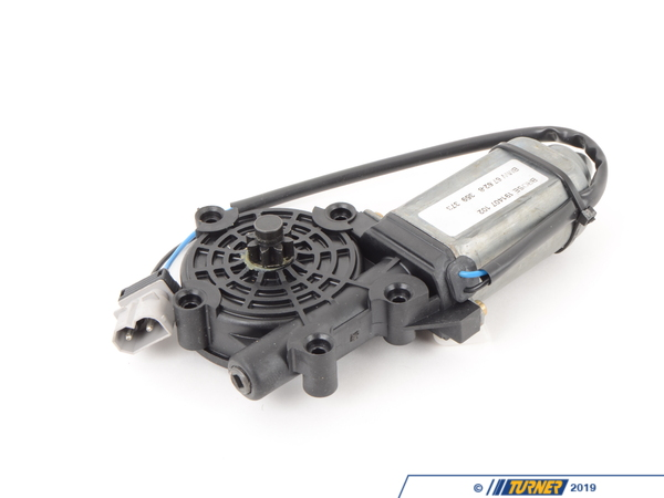 T#11222 - 67628359373 - Window Motor - E34 - Right Front / Left Rear - Genuine BMW - BMW