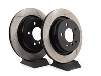 Gas-Slotted Brake Rotors (Pair) - Rear - E36 M3, MZ3