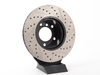 T#300169 - 127.34024R 936 - Turner-Stoptech Cross-Drilled and Slotted Right Brake Rotor - Centric -