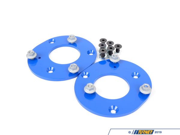 T#1066 - TSU3680455 - Turner Motorsport Street/Track Front Fixed Camber Plates - E36 M3 1995 - Turner Motorsport - BMW