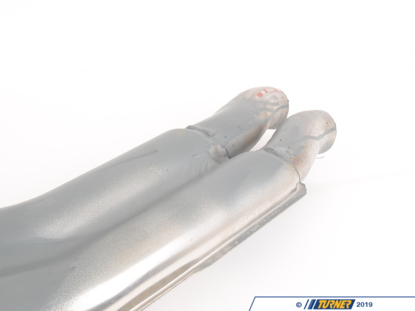 T#22603 - 18129068595 - Genuine BMW Center Silencer - 18129068595 - E34 - Genuine BMW -
