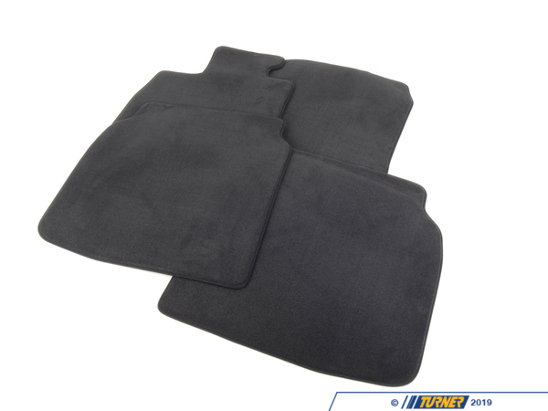 T#24133 - 51479124740 - Genuine BMW Set Of Floor Mats Velours Anthrazit - 51479124740 - F02 - Genuine BMW -
