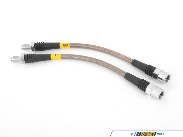 T#1041 - PLB318TI - E36 318ti 6pc. Stainless Steel Brake Line Set - StopTech - BMW