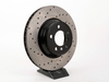 StopTech Cross-Drilled & Slotted Brake Rotors - Front - E65 745i/li 750i/li 760i/li (pair) 34116750267CDS