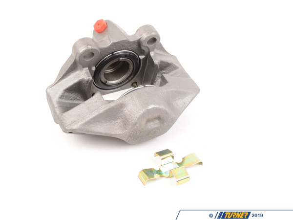 T#226980 - 34111150257R - Brake Caliper - Rebuilt - Front Left - E21 320i 1976-1977  - for ATE caliper - Our rebuilt calipers start off with an original BMW caliper that is fully disassembled thoroughly inspected and carefully processed.  All threads are chased, all groves are meticulously cleaned and checked.  Pistons are replaced if any dents or scratches are found.  All rubber components and hardware are replaced with new OE quality parts.   The units are then air pressure tested and submitted to a thorough final inspection.  This item fits the following BMWs:1976-1977  E21 BMW 320i  - Centric -