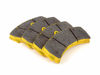 T#2514 - TMS2514 - StopTech Calipers ST60 - Race Brake Pad Set - Pagid RSL-29 Yellow - Yellow RS 19: Racing A favorite of BMW's Motorsport engineers, the Pagid RS19 compound is an endurance pad based on the RS14 Black but with less friction to improve modulation and low pedal effort. These pads work best in a heat range up to 1,100* F. The combination of friction levels, fade stability, and long life for pads and rotors makes this a favorite for club and HPDE drivers.This pad set fits the following StopTech 6-piston calipers:ST60ST60 calipers are found in many StopTech Big Brake Kits, including these BMW models:2008-2012  E82 BMW 128i 135i 1M Coupe1999-2005  E46 BMW M32006-2011  E90 BMW 325i 325xi 328i 328xi 328i xDrive 330i 330xi 335d 335i 335xi 335i xDrive M3 - Sedan2006-2012  E91 BMW 325xi 328i 328xi 328i xDrive - Wagon2007-2013  E92 BMW 328i 328xi 328i xDrive 335i 335is 335xi 335i xDrive M3 - Coupe2007-2013  E93 BMW 328i 335i M3 - Convertible2012+ F30 BMW 328i 335i - Sedan1997-2003  E39 BMW 525i 528i 530i 540i M52004-2010  E60 BMW 525i 525xi 530i 530xi 528i 528xi 528i xDrive 535i 535xi 535i xDrive 545i 550i M52010+  F07 BMW 535i GT, 535i xDrive GT, 550i GT, 550i xDrive GT2011+  F10 BMW 528i 535i 535i xDrive 550i 550i xDrive M52004-2011  E63 BMW 645ci 650i M62012+  F13 BMW 640i 650i2002-2008  E65 BMW 745i 745li 750i 750li 760i 760li2009+ F01 BMW 740i 740li 750i 750li 750i xDrive 750li xDrive 760li2004-2010  E83 BMW X3 2.5i X3 3.0i X3 3.0si2011+  F25 BMW X3 xDrive28i X3 xDrive35i2000-2006  E53 BMW X5 3.0i X5 4.4i X5 4.6is X5 4.8is2007-2013  E70 BMW X5 3.0si X5 4.8i X5 xDrive30i X5 xDrive35d X5 xDrive35i X5 xDrive48i X5M2008+  E71 BMW X6 xDrive35i X6 xDrive50i X6M2003-2008  E85 BMW Z4 M Roadster M Coupe2009+  Z4 BMW Z4 sDrive30i Z4 sDrive35i Z4 sDrive35is - StopTech - BMW MINI