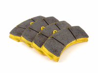 T#2514 - TMS2514 - StopTech Calipers ST60 - Race Brake Pad Set - Pagid RSL-29 Yellow - StopTech - BMW MINI