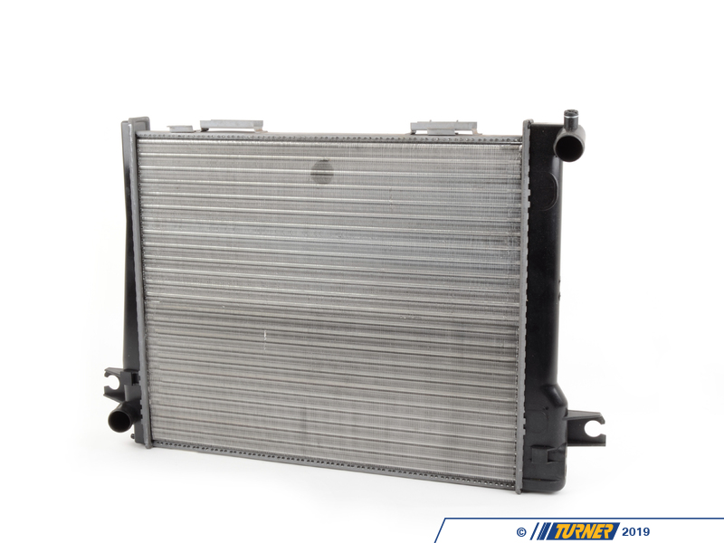 T#12561 - 17111468074 - E30 325i 86-87 OEM Behr Radiator - Manual Transmission - Hella -