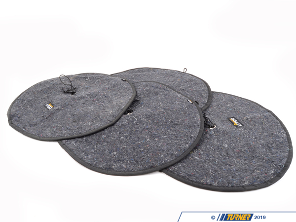 T#32 - 00037 - Tire Totes Wheel Felts - Turner Motorsport - BMW MINI