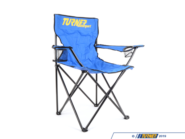 T#4465 - TMS-CHAIR - Turner Motorsport Collapsible Travel Chair - Turner Motorsport -
